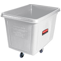 Rubbermaid FG461200WHT White 12 Cu. Ft. Bulk Cube Truck (400 lb.)
