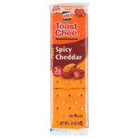 Lance Toast Chee Spicy Cheddar Sandwich Crackers 20 Count Box - 6/Case