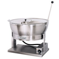 Cleveland SET-15 15 Gallon Electric Countertop Tilt Skillet - 208V, 3 Phase