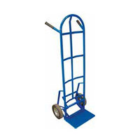 Winholt 99MR/PO Steel Tube Push-Off Hand Truck with 8 inch Mold-On Rubber Wheels - 600 lb.