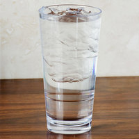 GET S-18-CL Revo 20 oz. Customizable SAN Plastic Stackable Mixing Glass - 24/Case