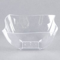 Fineline 116-CL Wavetrends / Tiny Temptations 16 oz. Clear Plastic Bowl - 80/Case