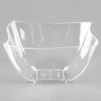 Fineline 180-CL Wavetrends / Tiny Temptations 8 oz. Clear Plastic Bowl - 80/Case