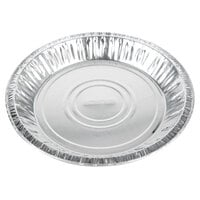 Baker's Mark 9 5/8 inch x 1 1/8 inch Deep Foil Pie Pan - 125/Pack