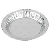 Baker's Mark 7 15/16 inch x 1 1/8 inch Deep Foil Pie Pan - 100/Pack