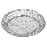 Baker's Mark 9 inch x 1 inch Medium Depth Foil Pie Pan   - 1000/Case