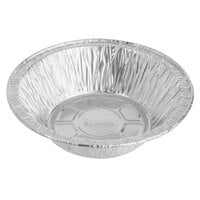 Baker's Mark 5 3/4 inch x 1 5/8 inch Deep Foil Pot Pie Pan   - 100/Pack