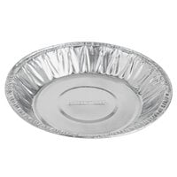 Baker's Mark 5 7/8 inch x 3/4 inch Medium Depth Foil Pie Pan - 100/Pack