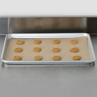 Bagcraft Packaging 030008 EcoCraft Bake 'N' Reuse 12 inch x 16 inch Half Size Parchment Paper Pan Liner - 50/Pack