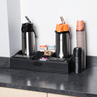 Double Airpot Coffee Station Organizer