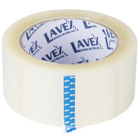 Lavex Industrial Packaging / Carton Sealing Clear Tape 2 inch x 110 Yards - 6/Pack