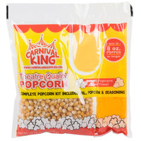 Carnival King All-In-One Popcorn Kit for 8 oz. to 10 oz. Poppers - 24/Case