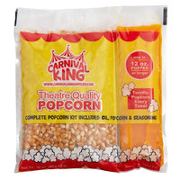 Carnival King All-In-One Popcorn Kit for 12 oz. to 14 oz. Popper - 24/Case
