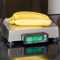 Cardinal Detecto APS10 30 lb. Point of Sale Scale with 6 inch x 10 inch Platform, Legal for Trade