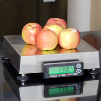 Cardinal Detecto APS15 15 lb. Point of Sale Scale with 10 inch x 10 inch Platform, Legal for Trade