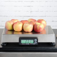 Cardinal Detecto APS70 70 lb. Point of Sale Scale with 12 inch x 14 inch Platform, Legal for Trade