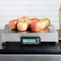 Cardinal Detecto APS30 30 lb. Point of Sale Scale with 12 inch x 14 inch Platform, Legal for Trade