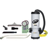 ProTeam 105896 MegaVac 10 Qt. Backpack Vacuum / Blower with Attachment Kit B