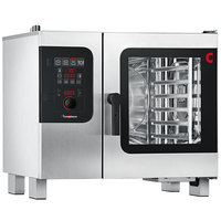 Convotherm C4ED6.10GS Natural Gas Half Size Boilerless Combi Oven with easyDial Controls - 37,500 BTU