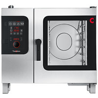 Convotherm C4ED6.10GS Liquid Propane Half Size Boilerless Combi Oven with easyDial Controls - 37,500 BTU