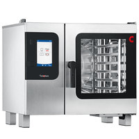 Convotherm C4ET6.10GS Natural Gas Half Size Boilerless Combi Oven with easyTouch Controls - 37,500 BTU