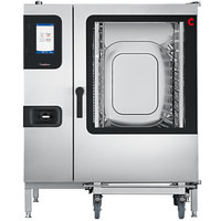 Convotherm C4ET12.20GS Natural Gas Full Size Roll-In Boilerless Combi Oven with easyTouch Controls - 109,200 BTU