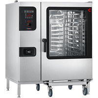 Convotherm C4ED12.20GS Natural Gas Full Size Roll-In Boilerless Combi Oven with easyDial Controls - 109,202 BTU