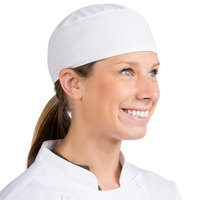 Headsweats White Customizable Chef Skull Cap