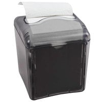 San Jamar H4006TBK Venue Tabletop Compact Interfold Napkin Dispenser - Black Pearl