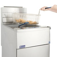 Pitco® SG18-S Natural Gas 75 lb. Stainless Steel Floor Fryer