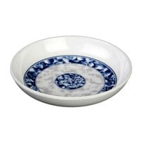 Thunder Group 1003DL Blue Dragon 3 oz. Round Melamine Sauce Dish - 60/Case