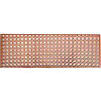 Cactus Mat 2530-R10 VIP TopDek Junior 3' x 9' 10 inch Red Grease-Resistant Anti-Fatigue Floor Mat - 1/2 inch Thick