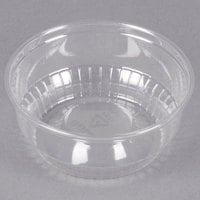 Solo SD35 3.5 oz. Clear Plastic Sundae Cup - 1000/Case