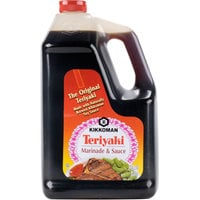 Kikkoman Teriyaki Marinade and Sauce 1 Gallon Containers - 4/Case
