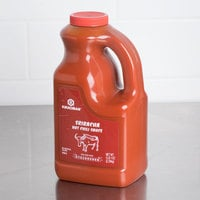 Kikkoman Sriracha Hot Chili Sauce 5 lb. Container - 6/Case