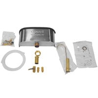 Master-Bilt A060-20400 10 inch Dipper Well and Faucet Set with Installation Kit