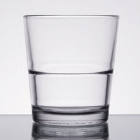 Libbey 15769 Restaurant Basics 12 oz. Stackable Double Rocks / Old Fashioned Glass - 24/Case