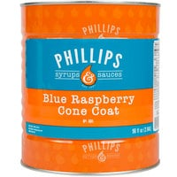 Phillips Blue Raspberry Ice Cream Shell Dip - #10 Can