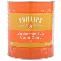 Phillips Butterscotch Ice Cream Shell Dip - #10 Can