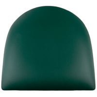 Lancaster Table & Seating Spartan Series Chair / Barstool 2 1/2 inch Green Vinyl Padded Seat