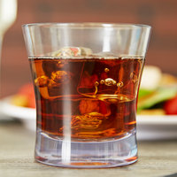 Carlisle 560907 Alibi 9 oz. SAN Plastic Rocks / Old Fashioned Glass - 24/Case