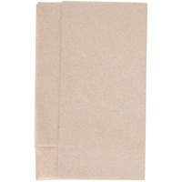 Morcon D213-KFT Kraft Natural Mini-Fold 1-Ply 11 1/2 inch x 12 1/2 inch Dispenser Napkin - 250/Pack