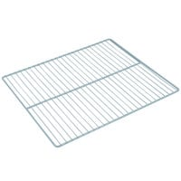 Avantco 178SHELFUBB Coated Wire Shelf - 22 1/2 inch x 21 1/2 inch