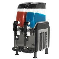 vollrath stoelting cbe12737 dual 32 gallon pourover frozen beverage dispenser - Slushie Machines