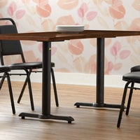 FLAT Tech KT22 22 inch Self-Stabilizing Black End Table Base Set