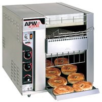 APW Wyott BT-15-3 Bagel Master Conveyor Toaster with 3 inch Opening - 208V