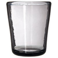 Carlisle MIN544018 Mingle 12 oz. Smoke Tritan Plastic Double Rocks / Old Fashioned Glass - 12/Case