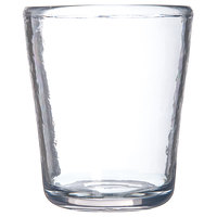 Carlisle MIN544007 Mingle 12 oz. Clear Tritan Plastic Double Rocks / Old Fashioned Glass - 12/Case