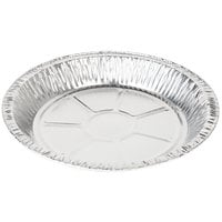Baker's Mark 9 5/8 inch x 1 3/16 inch Deep Foil Pie Pan - 20/Pack