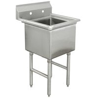Advance Tabco FC-1-2424 One Compartment Stainless Steel Commercial Sink - 29 inch